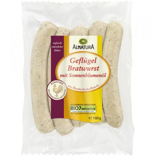 Bio Geflügel-Bratwurst