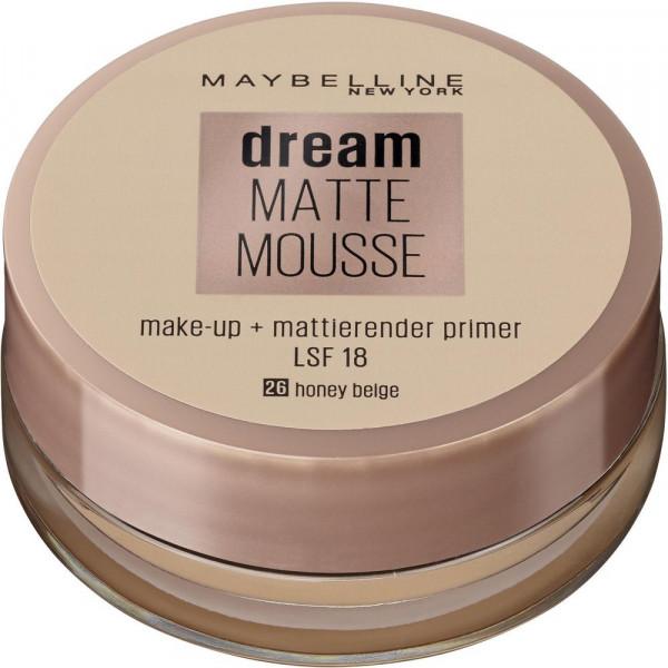 Make-Up Dream Matte Mousse, Honey Beige 26