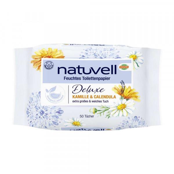 """Feuchtes Toilettenpapier """"Deluxe"""", Kamille & Calendula"""