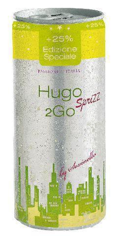 2Go Secco Black Hugo Sprizz