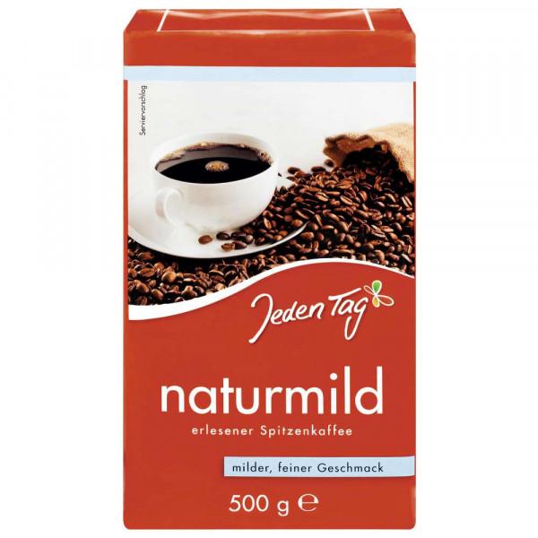 Kaffee Naturmild, gemahlen