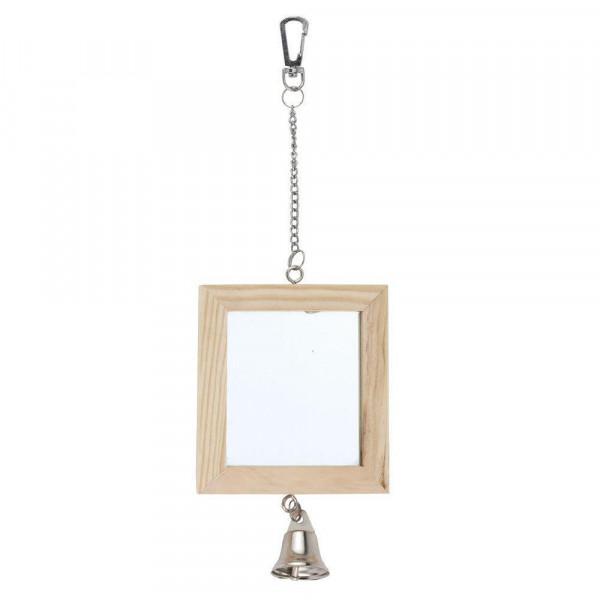 "Vogel ""Doppelspiegel"", 8,5x9,5cm"