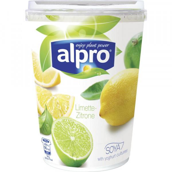 Pflanzliche Joghurtalternive, Limette-Zitrone
