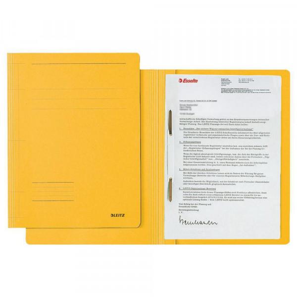 Schnellhefter Fresh, DIN A4, Karton, gelb