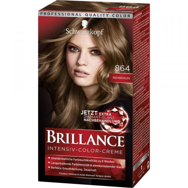 "Haarfarbe ""Brillance"", 864 Rehbraun"