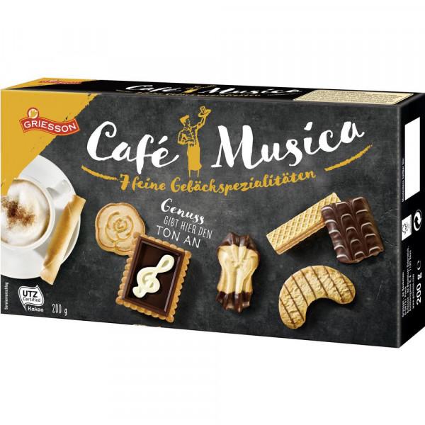 Cafe Musica Gebäckmischung