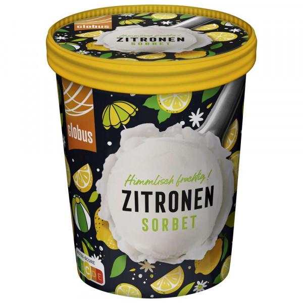 Zitronen Sorbet