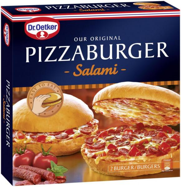 Pizzaburger Salami, tiefgekühlt