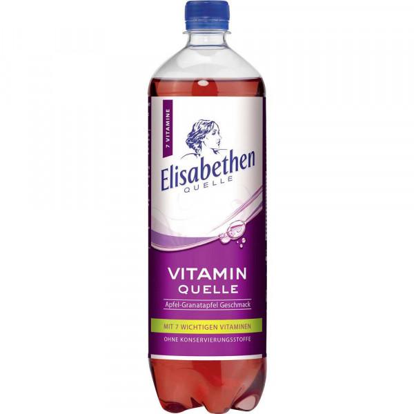 Vitamin Quelle Apfel-Granatapfel Mineralwasser, naturelle