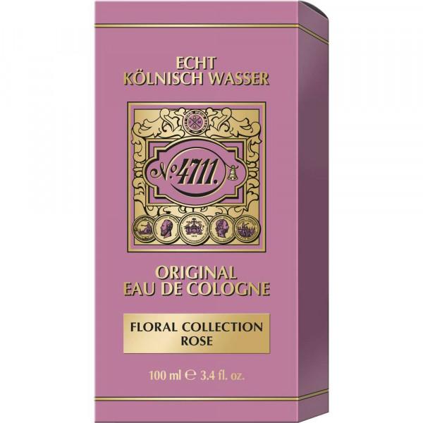 Damen Echt Kölnisch Wasser Floral Collection Rose