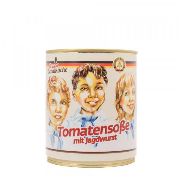 Tomatensoße mit Jagdwurst