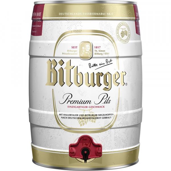 Premium Pilsener Bier Partyfass 4,8%