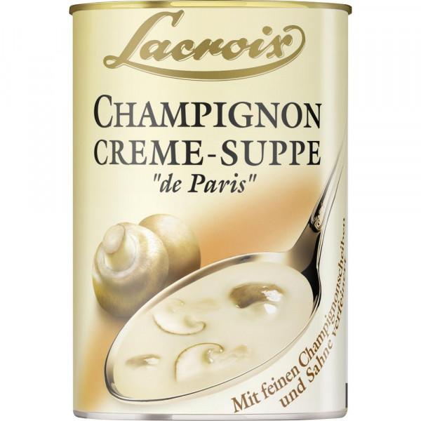 Champignon Creme-Suppe