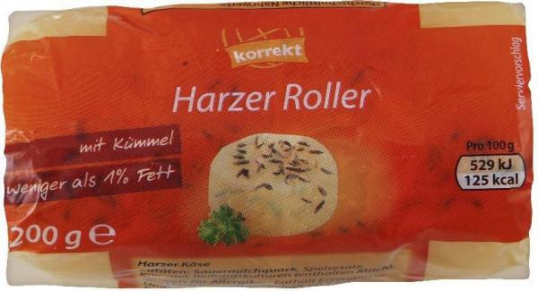Harzer Käse, Kümmel