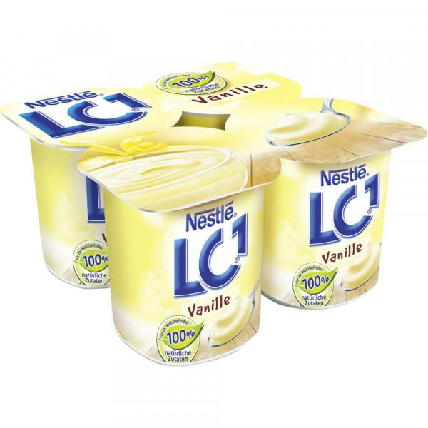 LC1 Joghurt, Vanille 4 x 125g