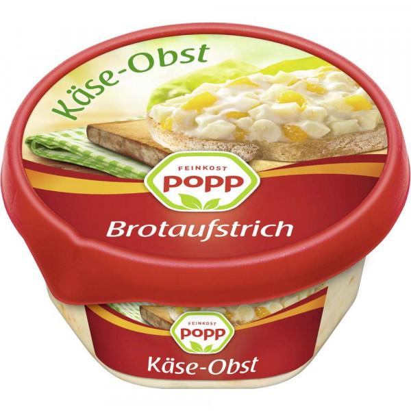 Brotaufstrich, Käse/Obstsalat