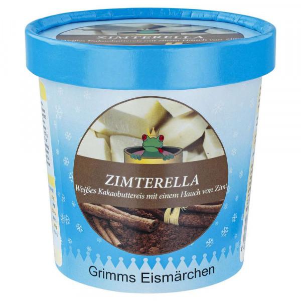 """Weiße Kakaobuttereiscreme mit Zimt """"Zimterella"""""""