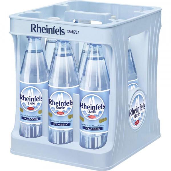 Mineralwasser, Klassik (12 x 0.75 Liter)