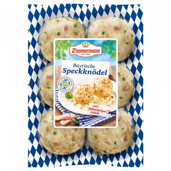 Original bayrische Speckknödel