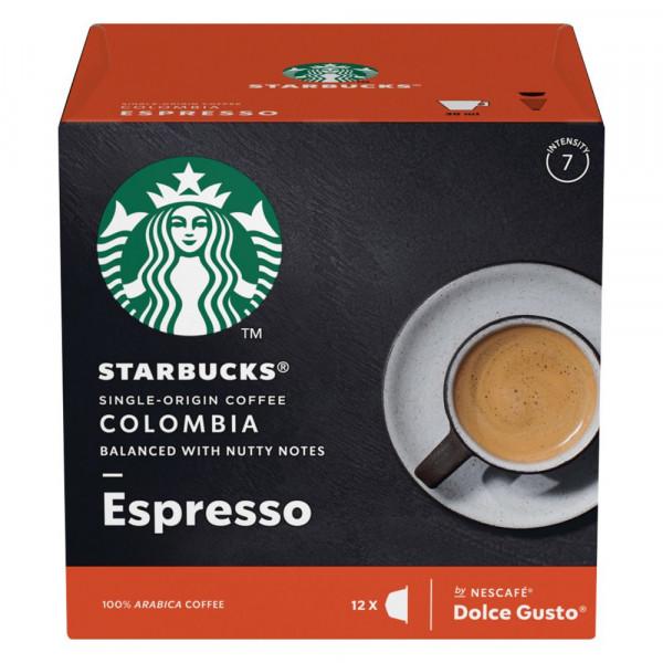 Kaffee Kapseln Dolce Gusto, Starbucks Espresso Colombia