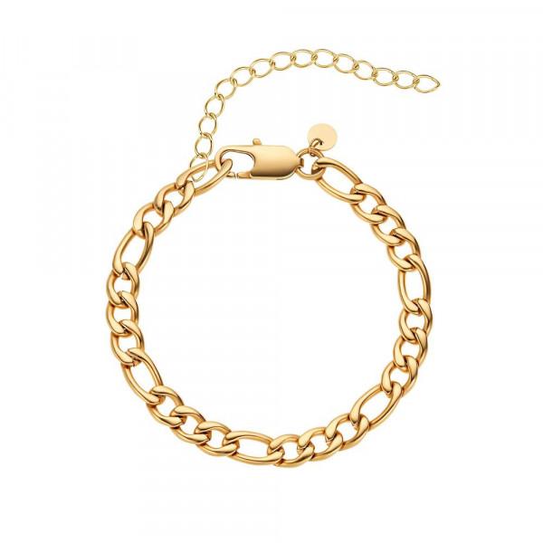 Damen Armband aus Edelstahl, vergoldet (2030001)