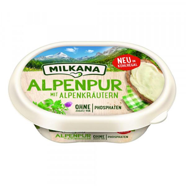 """Schmelzkäse """"Alpenpur"""", Kräuter"""