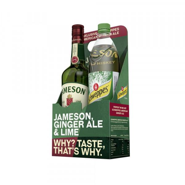 Irish Whiskey 40% + Ginger Ale