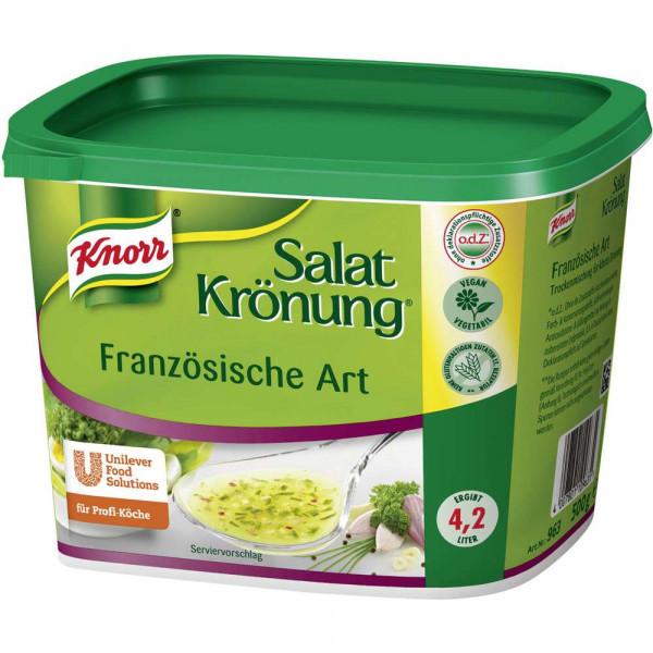 Salatkrönung, Französische Art