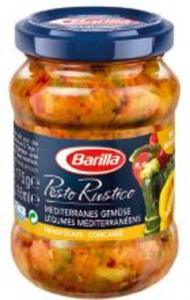 Pesto Rustico, Mediterranes Gemüse