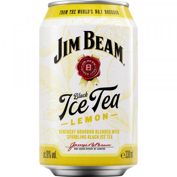 Bourbon & black Ice Tea Lemon Mixgetränk 10%