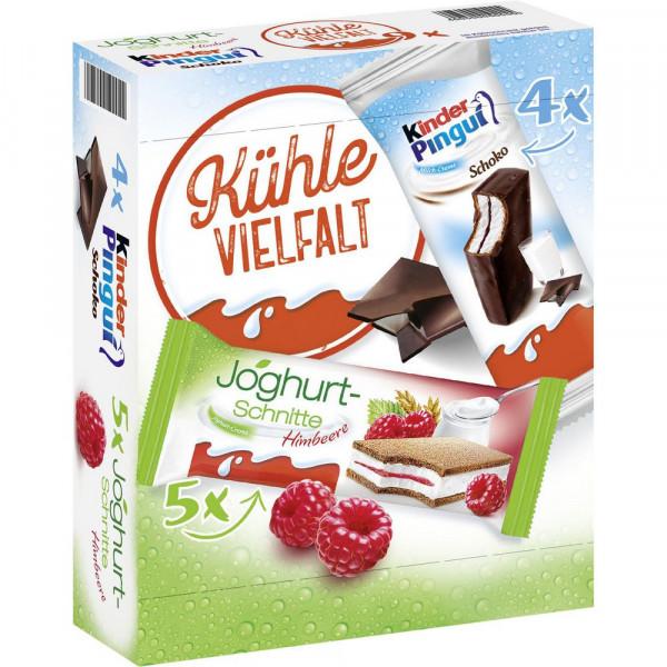 """Mixpack """"Kinder Joghurtschnitte & Kinder Pingui"""""""