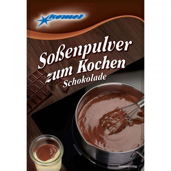 Soßenpulver, Schokolade