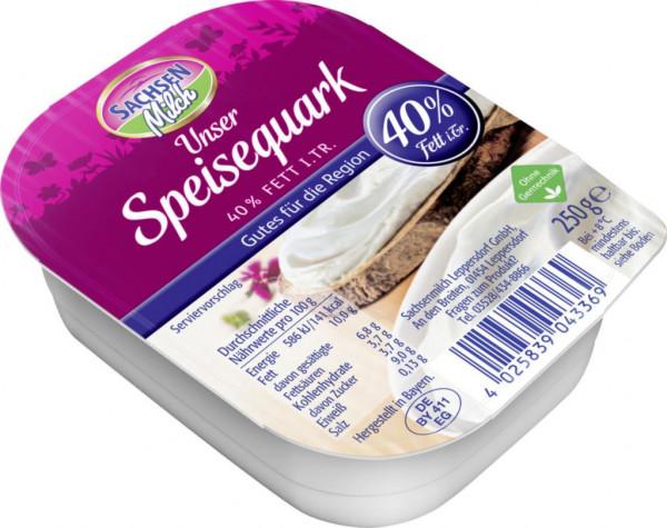 Speisequark, 40% Fett