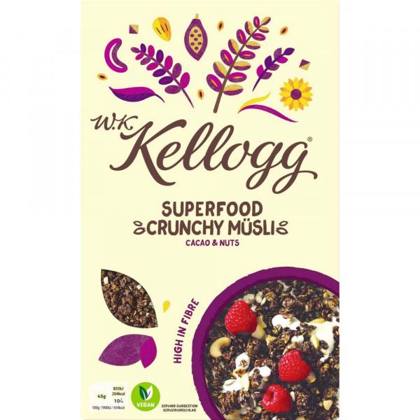 Knusper-Müsli Superfood, Cacao & Nuts