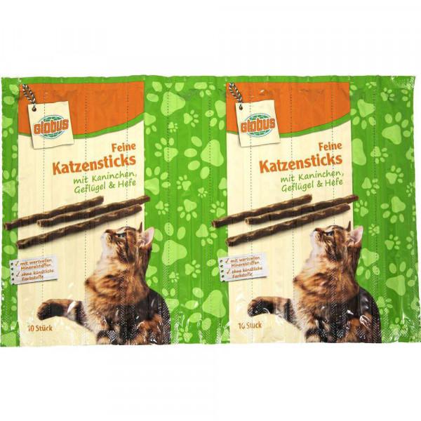 Katzensticks, Kaninchen-Geflügel