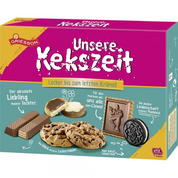 "Gebäckmischung ""Unsere Kekszeit"""
