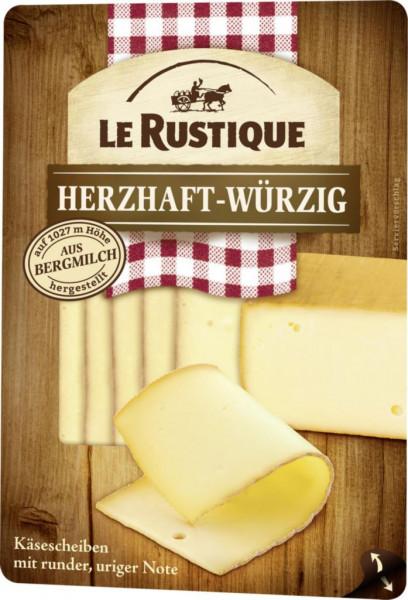 Käse Scheiben, herzhaft