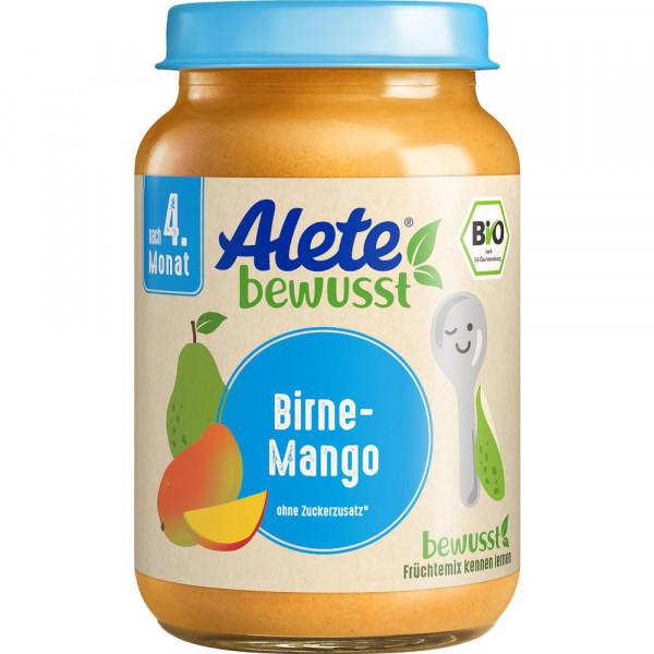 Babynahrung, Bio Birne-Mango