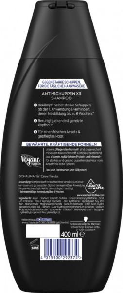 "Shampoo ""Schauma"", Anti-Schuppen Intensiv"