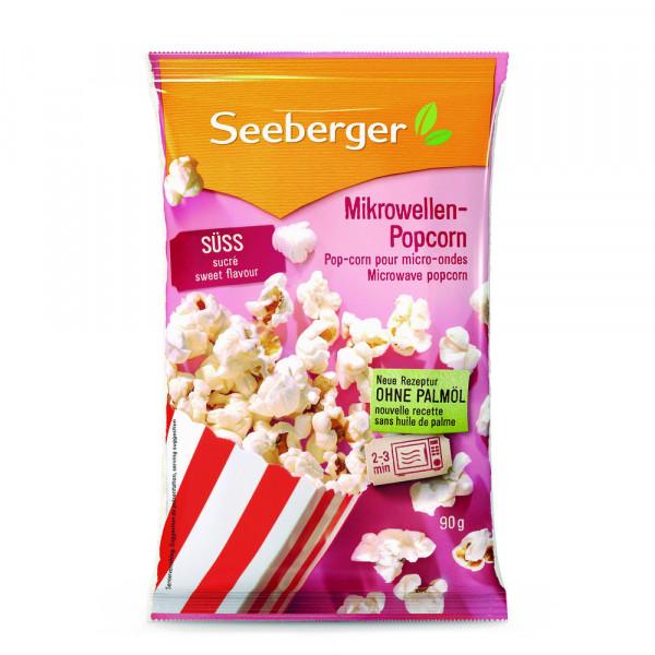 Mikrowellen-Popcorn, süß