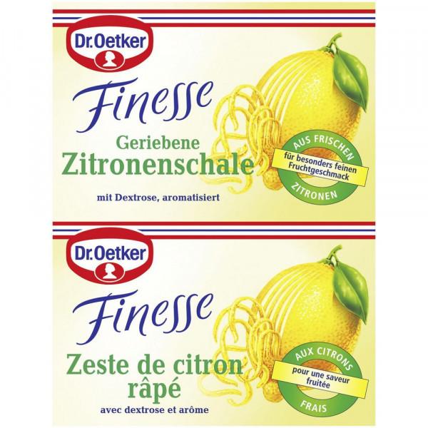 "Backaroma ""Finesse"", Zitronenschale"