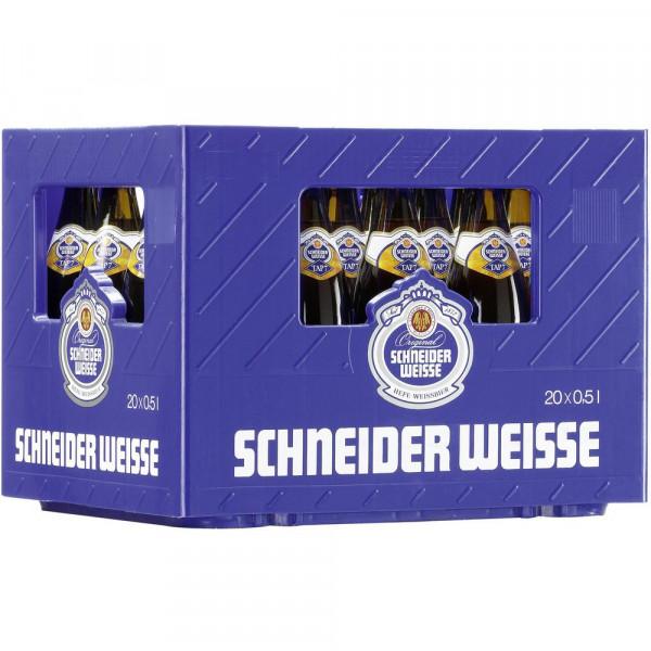 """Weißbier """"TAP7 Mein Original"""" 5,4% (20 x 0.5 Liter)"""