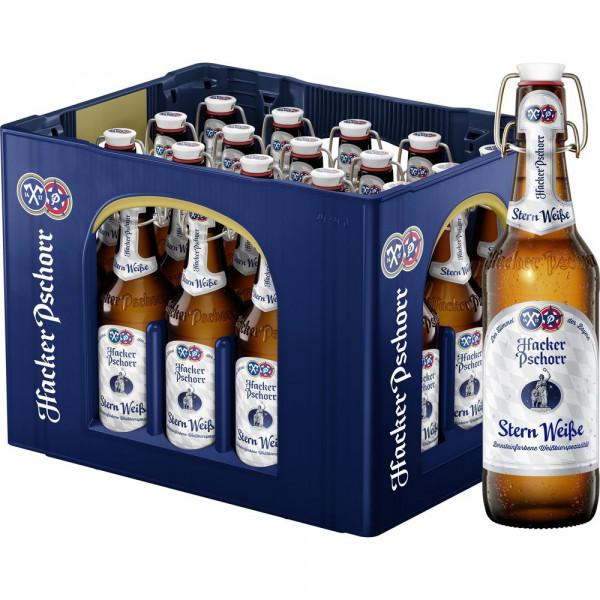 """Hefe-Weißbier """"Stern Weiße Bügel"""" 5,5% (20 x 0.5 Liter)"""
