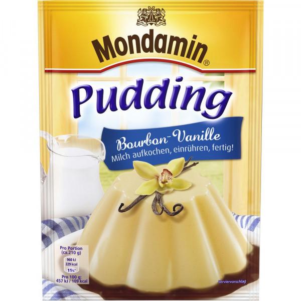 Pudding, Bourbon-Vanille