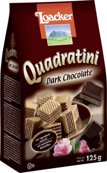 """Waffelwürfel """"Quadratini"""", dunkle Schokolade"""