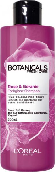 """Shampoo """"Botanicals"""", Rose + Geranie"""