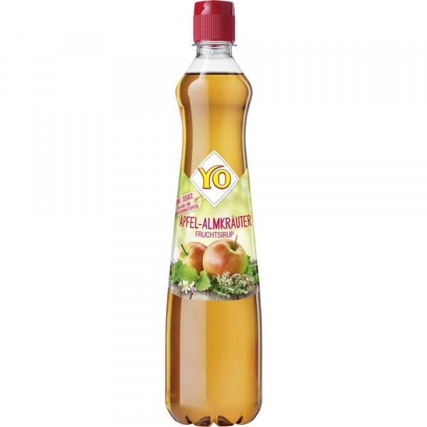 Almkräuter-Apfel Sirup
