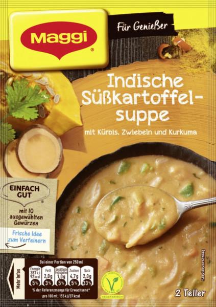 Genießer Suppe, Indische Süßkartoffel