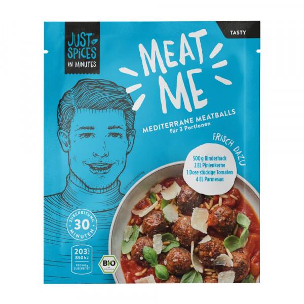 """Würzmischung """"In Minutes"""", Mediterrane Meatballs"""