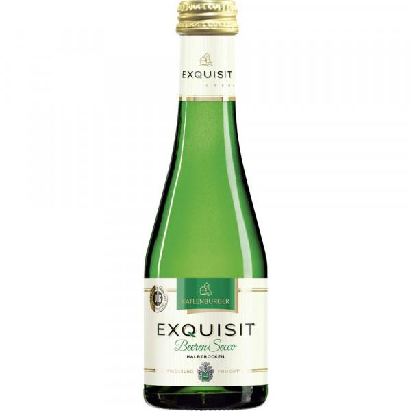 Exquisit Beeren-Perlwein, halbtrocken 8,5%